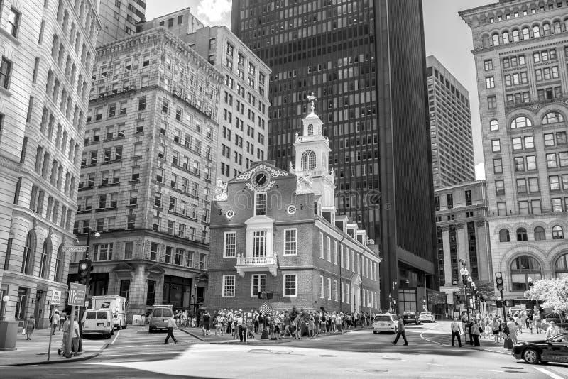 Pasillo de Faneuil en Boston foto de archivo libre de regalías