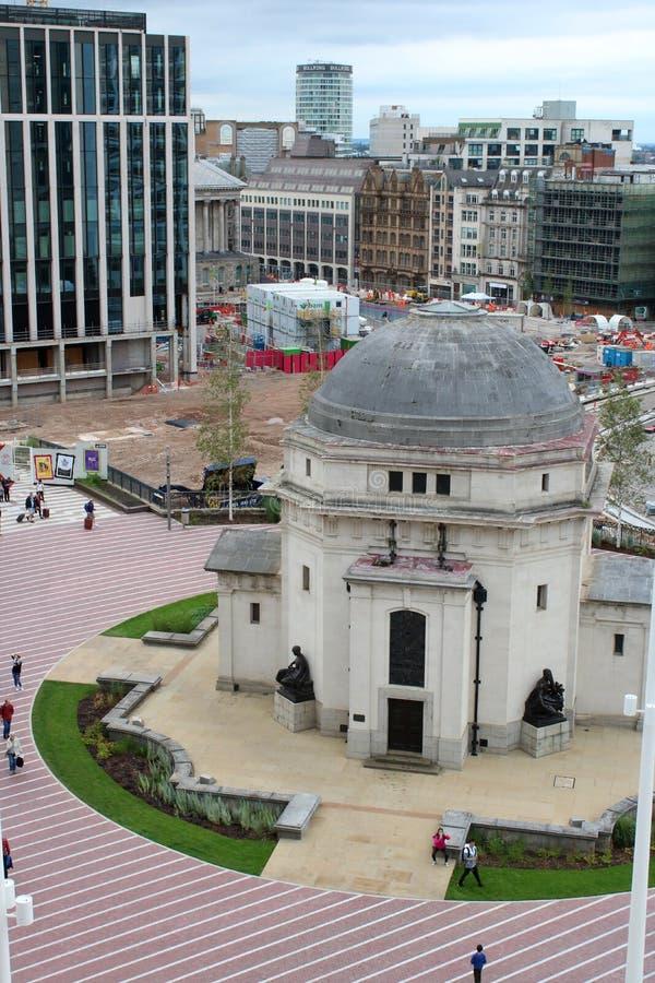 Pasillo de la memoria, cuadrado centenario, Birmingham foto de archivo