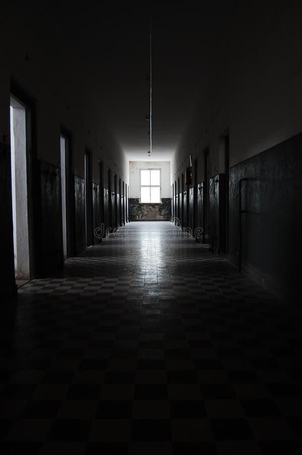 Pasillo de la prisión fotos de archivo