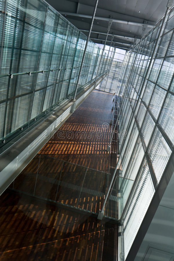 Pasillo del aeropuerto fotografía de archivo libre de regalías