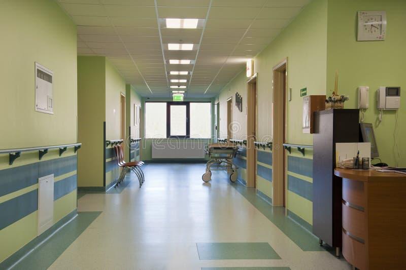 Pasillo del hospital foto de archivo libre de regalías