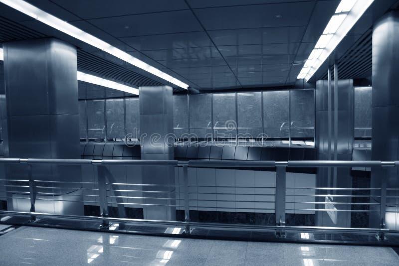 Pasillo del metro imagen de archivo libre de regalías