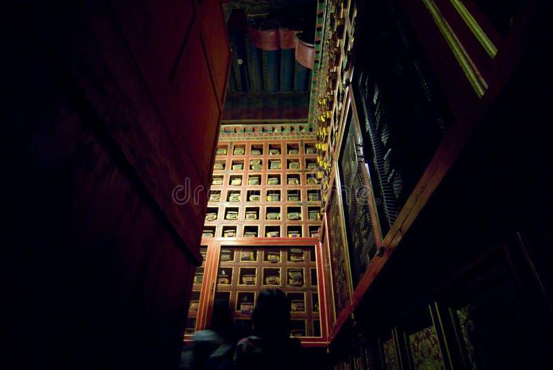 Pasillo del palacio fotos de archivo libres de regalías