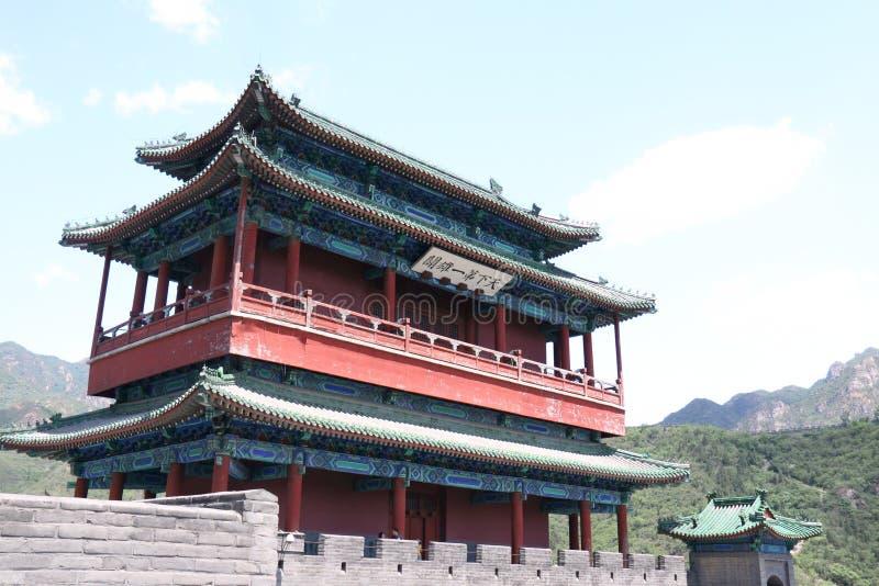Pasillo del palacio de Juyongguan fotografía de archivo