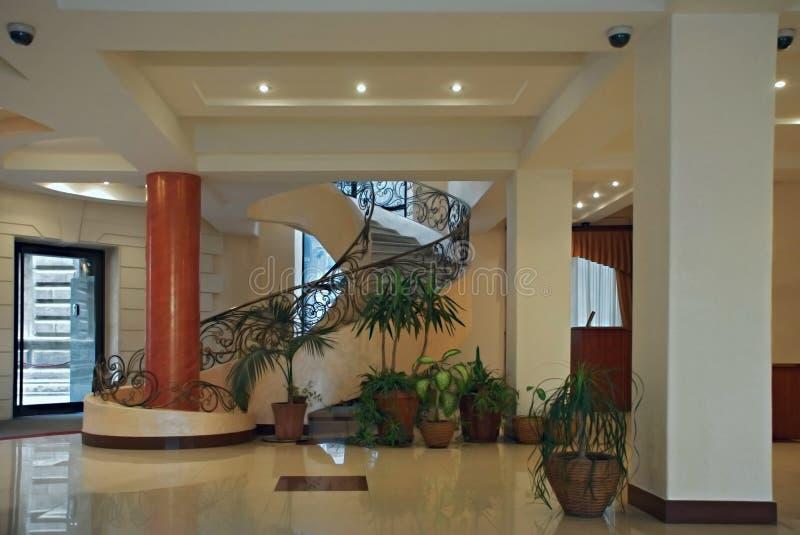 Pasillo en hotel imagen de archivo libre de regalías