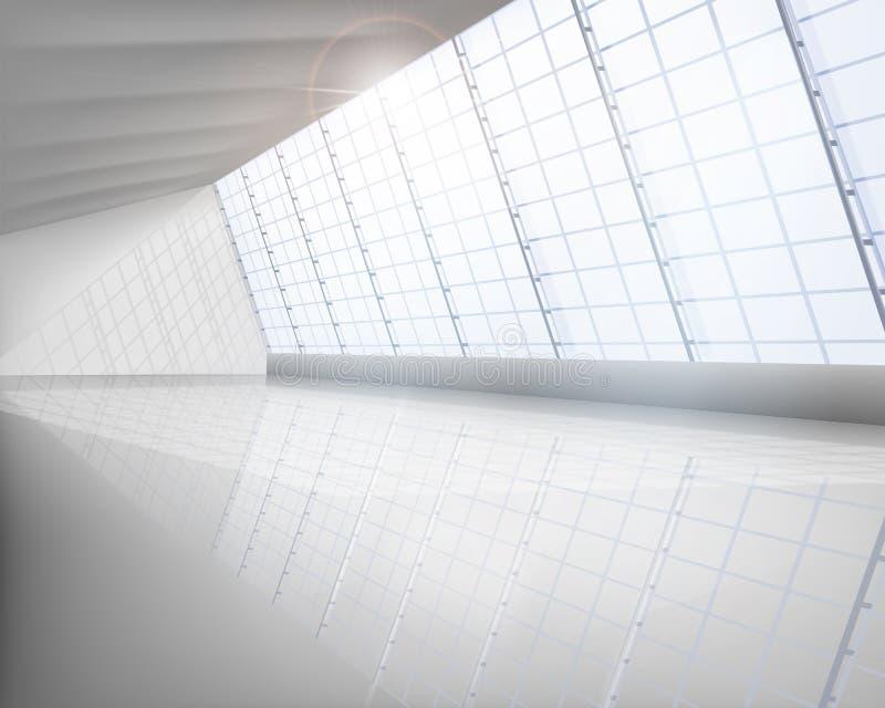 Pasillo grande ilustración del vector