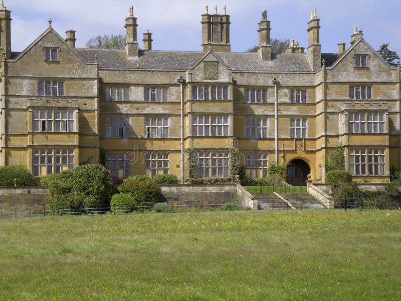 Pasillo Inglaterra casera majestuosa de Batsford foto de archivo