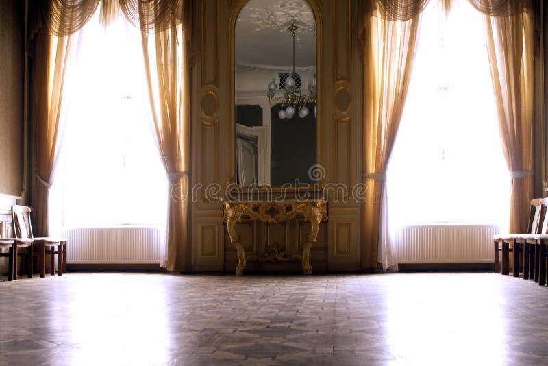 Pasillo interior rico grande de la rejilla foto de archivo