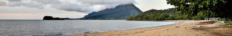 Pasir Pandak Strand stockbild