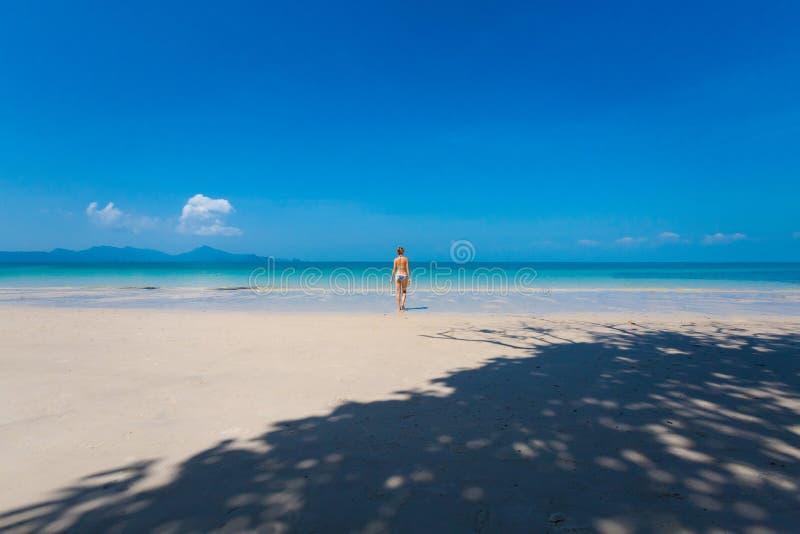 Pasir Pantai Tengkorak Cenang Langkawi photos libres de droits