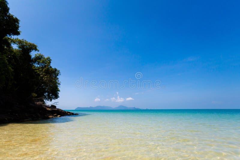 Pasir Pantai Tengkorak Cenang Langkawi photographie stock libre de droits