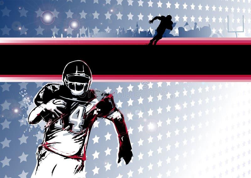 Pasja futbol amerykański ilustracja wektor