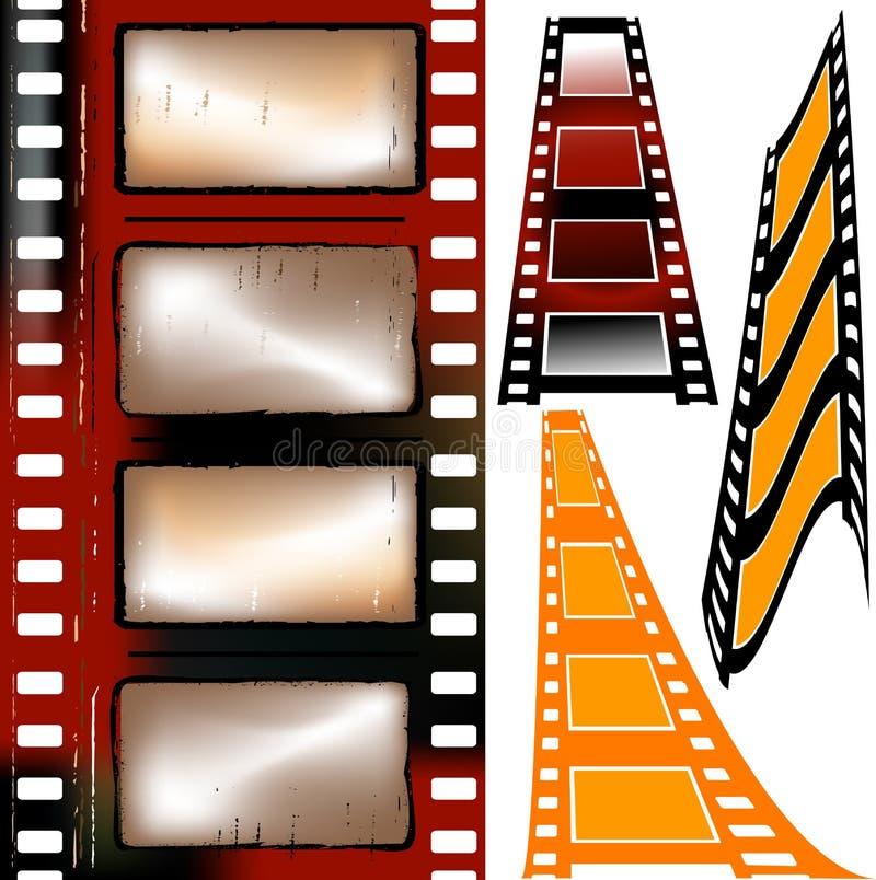 paski filmów royalty ilustracja