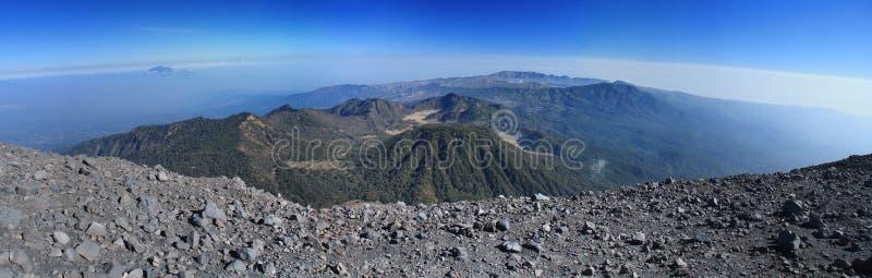 Pasmo górskie panorama zdjęcie stock