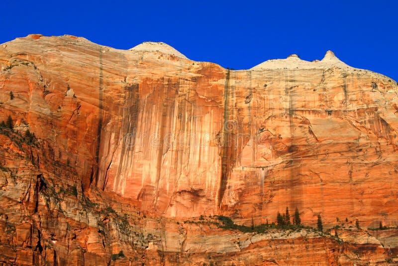Pasmowy Ścienny Zion park narodowy zdjęcia stock