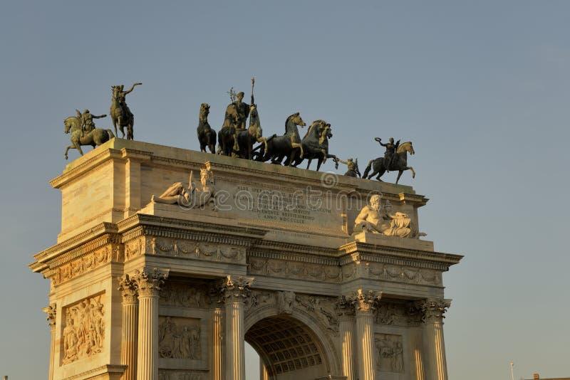 Paso de Arco Della imagen de archivo libre de regalías