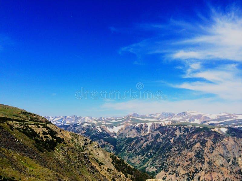 Paso de Beartooth, Montana fotos de archivo