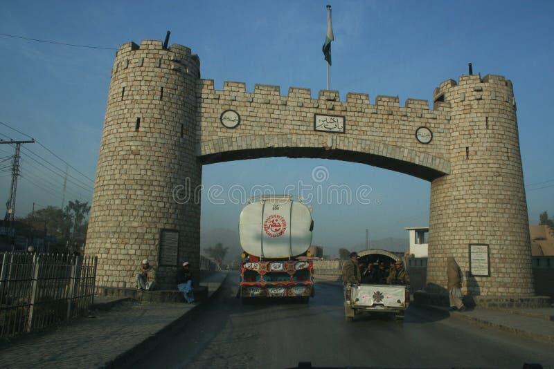 Paso de Khyber en Paquistán imagen de archivo libre de regalías