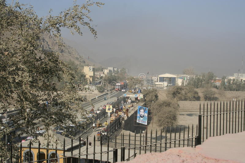 Paso de Khyber en Paquistán foto de archivo