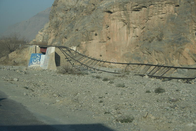 Paso de Khyber en Paquistán fotos de archivo libres de regalías