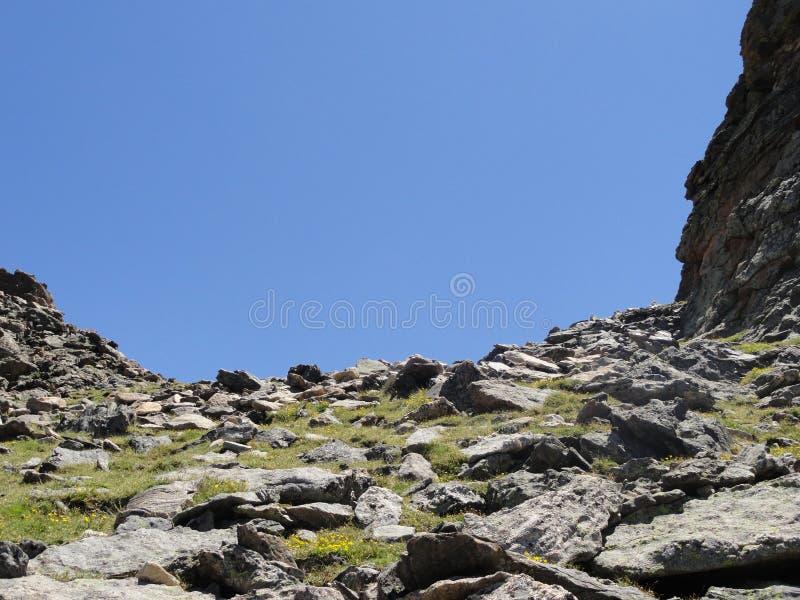 Paso de montaña de Colorado imagen de archivo