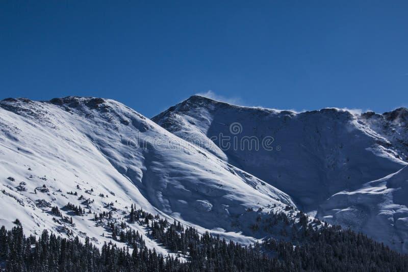 Paso de montaña en Colorado fotos de archivo