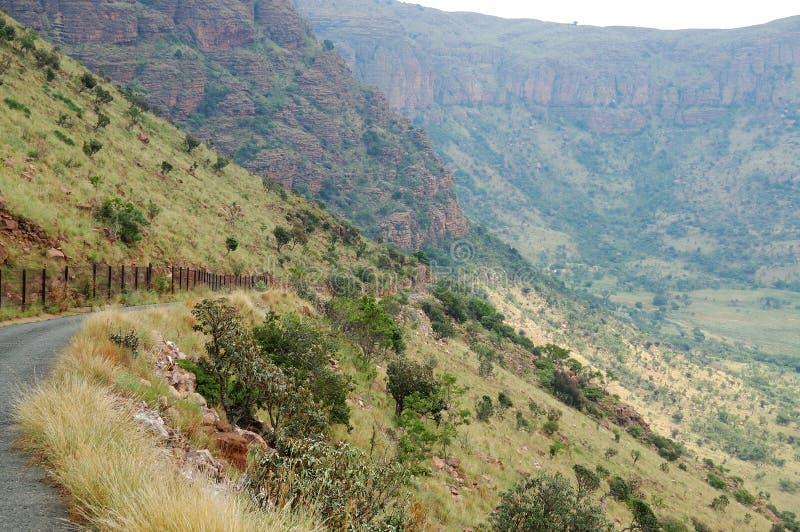 Paso de montaña en el parque nacional de Marakele fotos de archivo libres de regalías