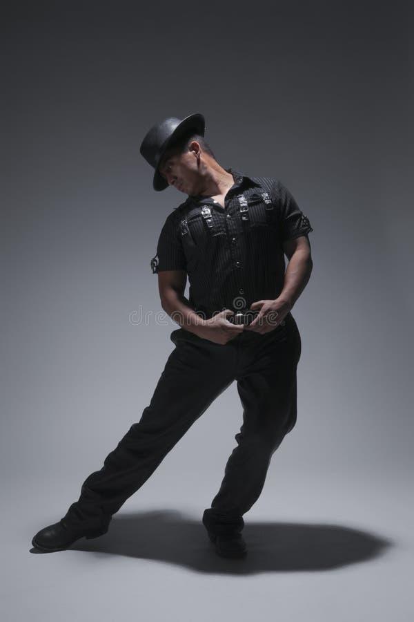 Paso de progresión de baile del tango imágenes de archivo libres de regalías