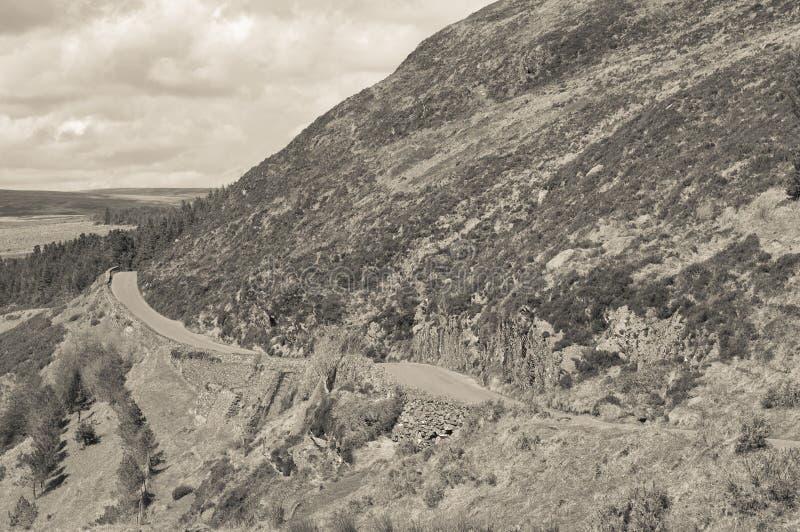 Paso de Sally Gap imagenes de archivo