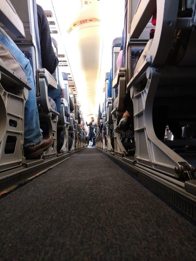 Paso del aeroplano imagen de archivo libre de regalías