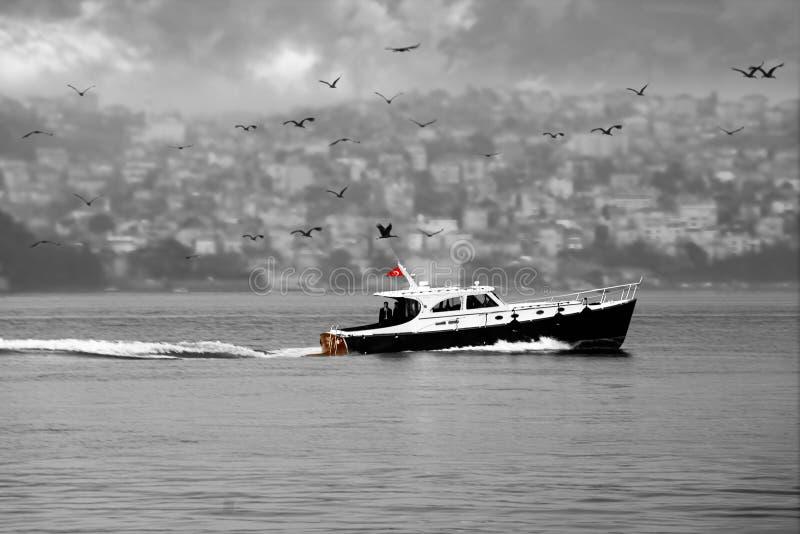 Paso del Bosphorus imagenes de archivo