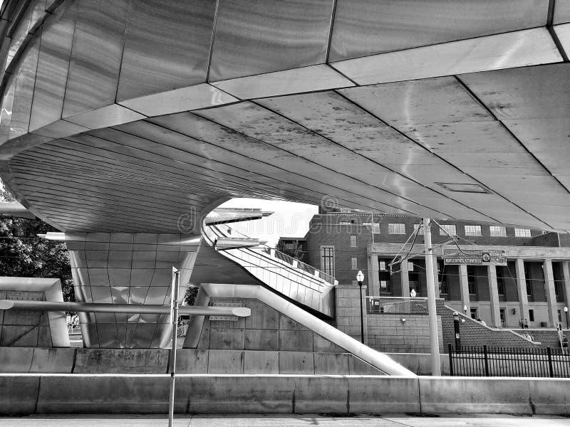 Paso inferior del puente imagen de archivo