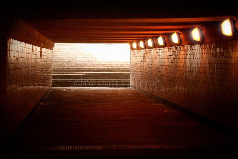 Paso subterráneo foto de archivo