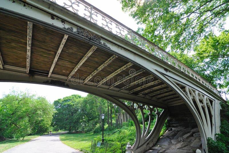 Paso superior de Central Park foto de archivo libre de regalías