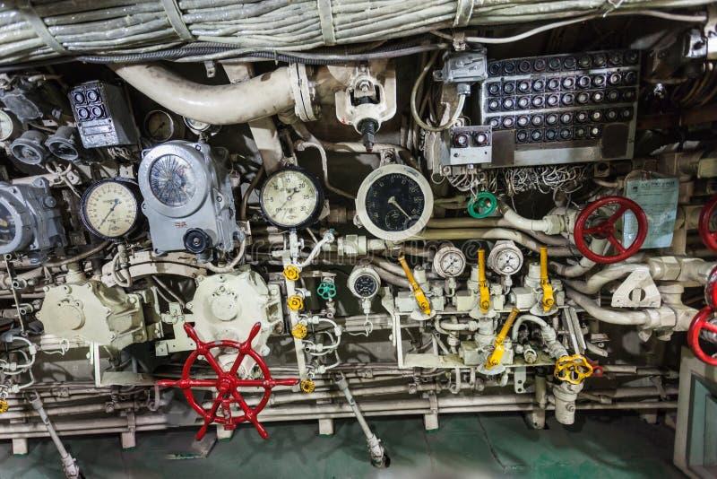 Pasopati ubåtmonument arkivbilder