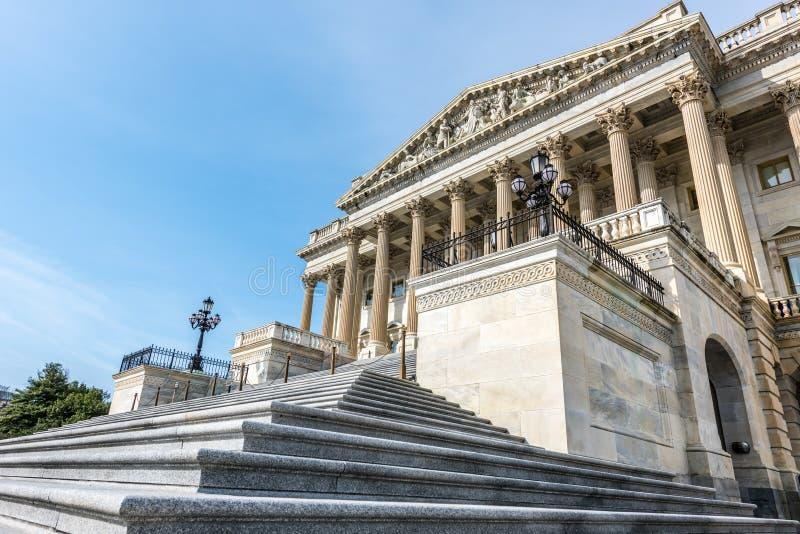 Pasos angulares a la Cámara de los Representantes imagenes de archivo