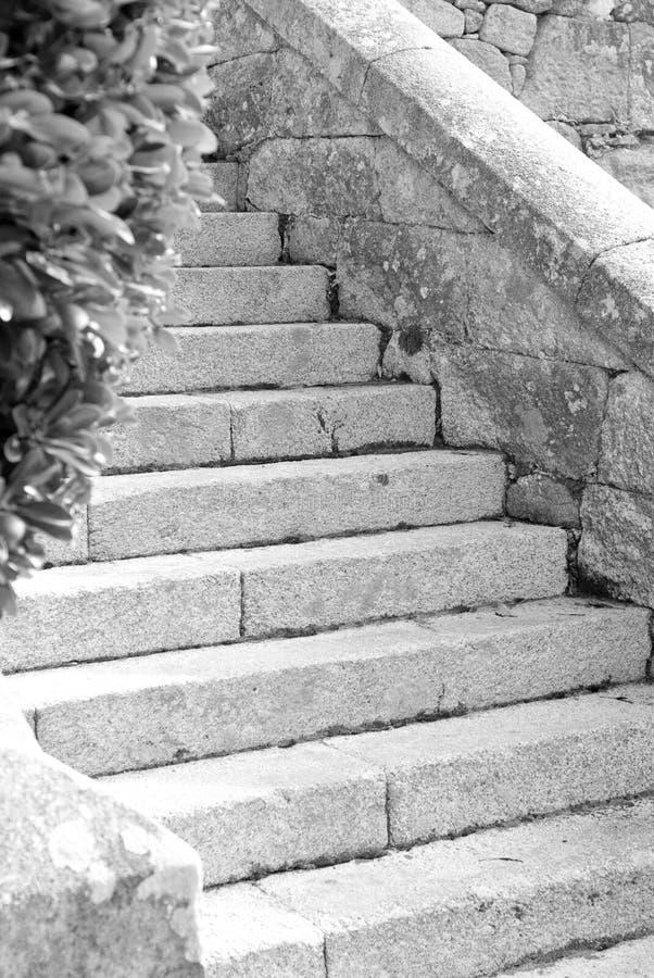 Pasos de progresión de piedra fotografía de archivo libre de regalías