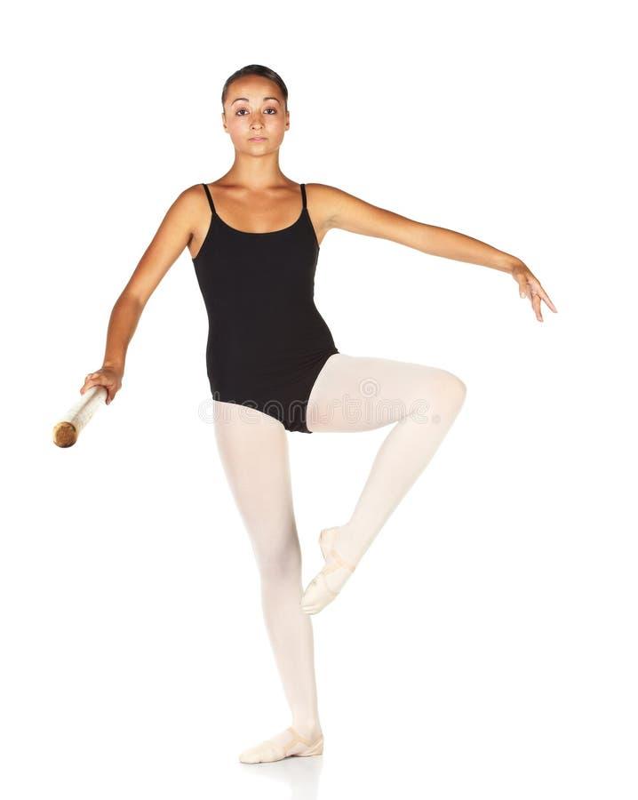 Pasos de progresión del ballet fotografía de archivo libre de regalías