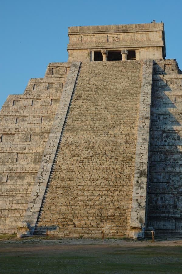 Pasos de progresión a los mayas. foto de archivo