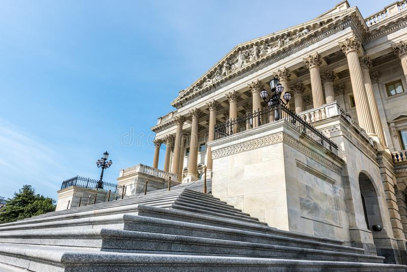 Pasos a la cámara de Estados Unidos de representantes imagen de archivo