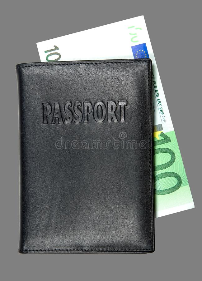 Paspoort Stock Foto