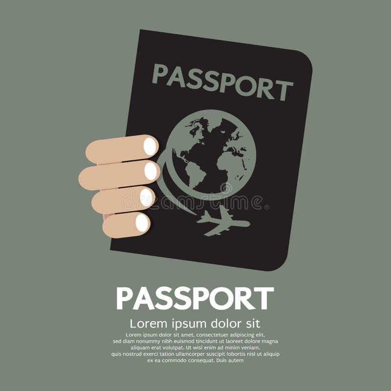 Paspoort vector illustratie
