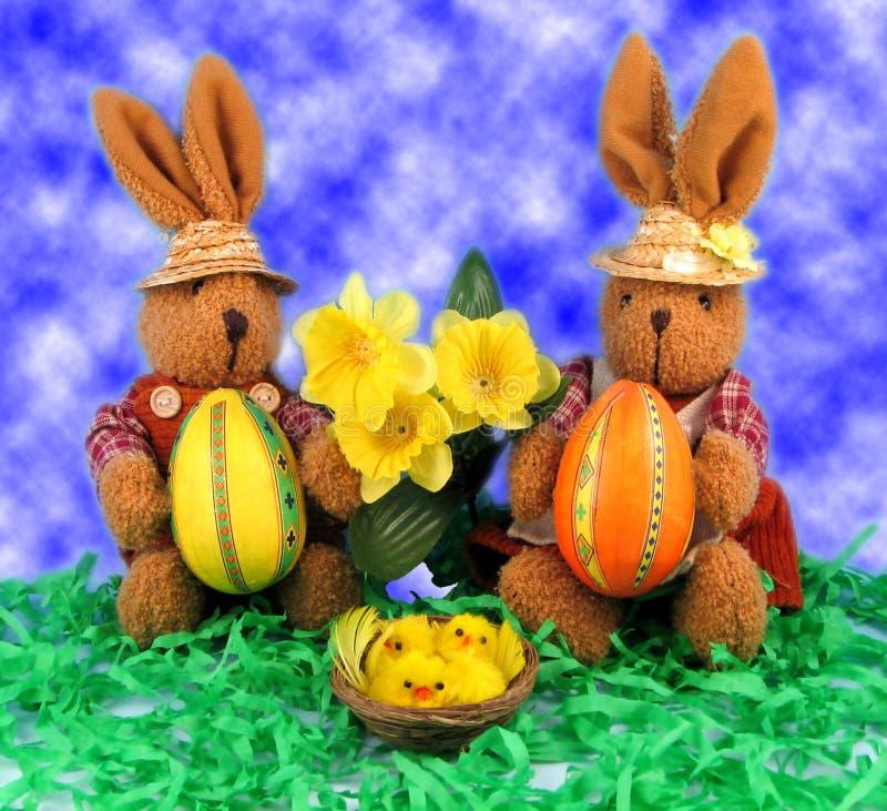 Download Pasqua fotografia stock. Immagine di yellow, daffodil, giocattolo - 450290