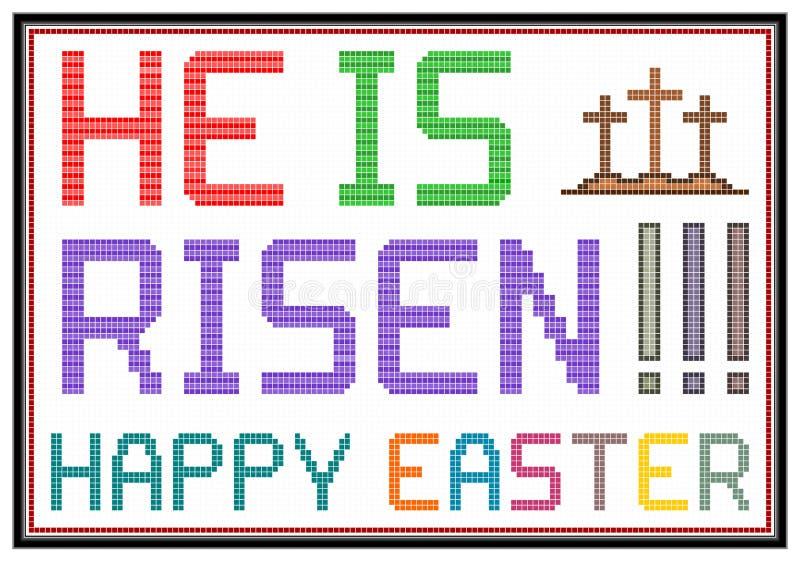 Pasqua felice illustrazione vettoriale