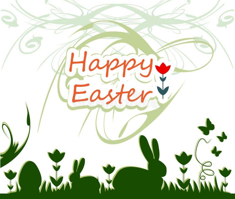 Pasqua felice royalty illustrazione gratis