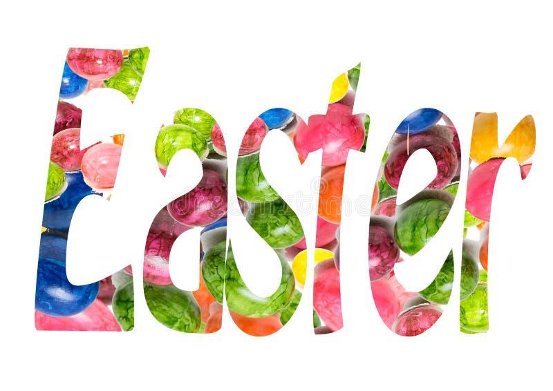 Pasqua felice fotografia stock libera da diritti