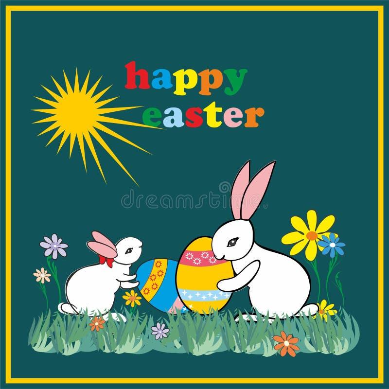 Pasqua felice E immagine stock