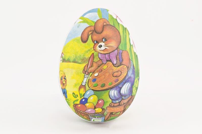 Pasqua ha verniciato l'uovo immagine stock