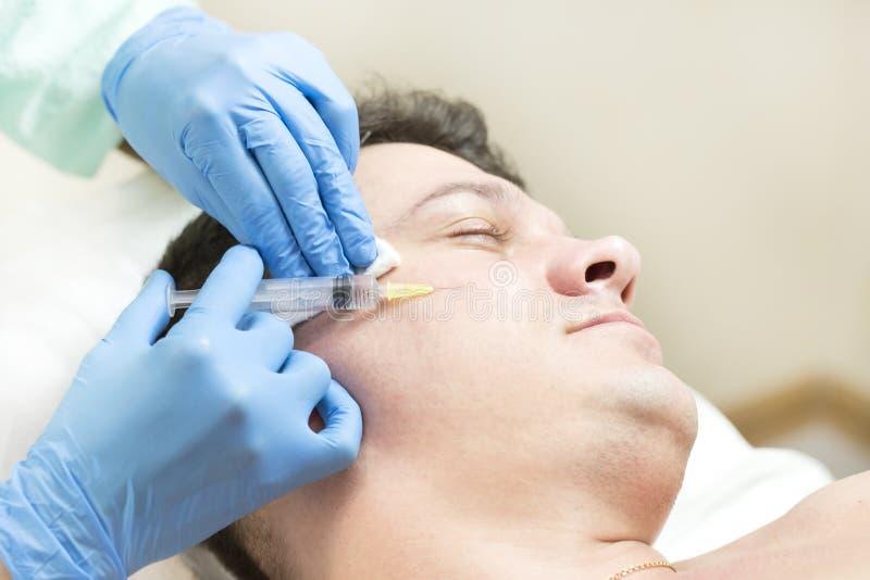 Passa um curso da clínica mesotherapy imagens de stock royalty free