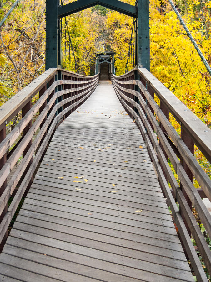 Passadiço, Durango, Colorado imagem de stock